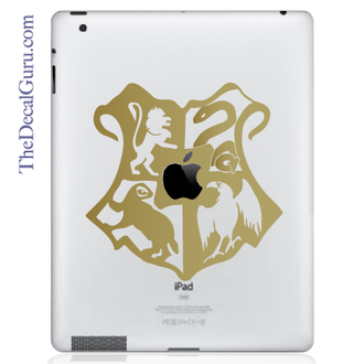Hogwarts Crest Apple iPad Decal sticker