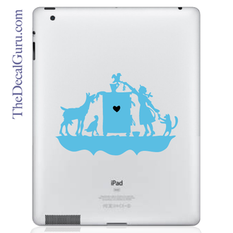 Children's Book iPad Decal
