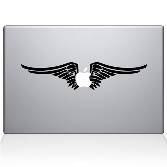 Harley Apple Macbook Decal Sticker Black