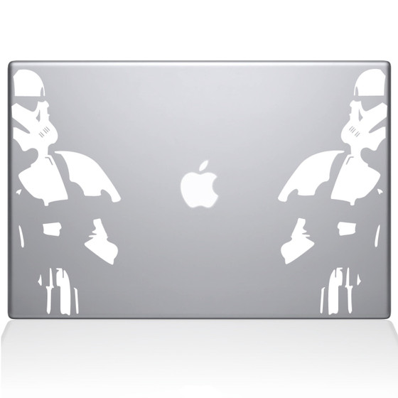 Storm Troopers Macbook Decal Sticker White