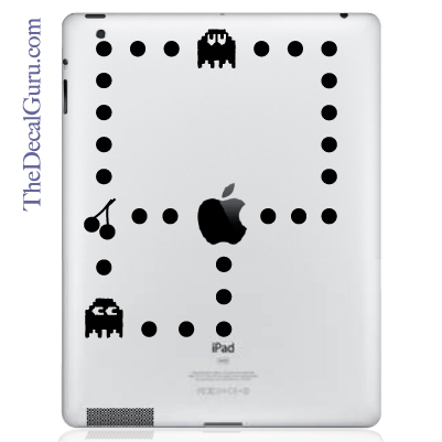 Pacman iPad Decal