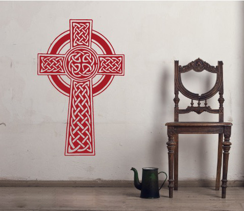 Celtic Knot Cross | Wall Decals | The Decal Guru