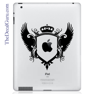 Royal Crest iPad Decal