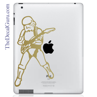 Rock N Roll Storm Trooper iPad Decal