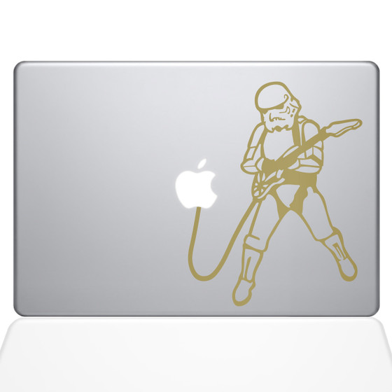 Rock N Roll Storm Trooper Macbook Decal sticker