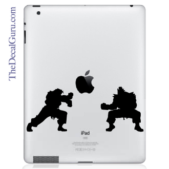 Street Fighter iPad Decal