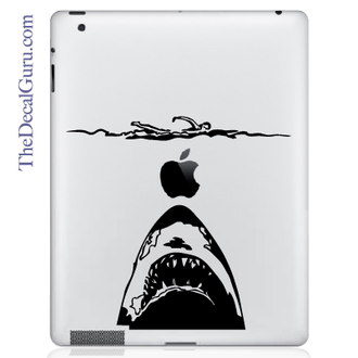Jaws iPad Decal