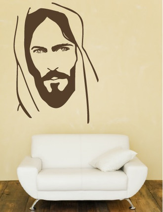 Face of Jesus Wall Decal