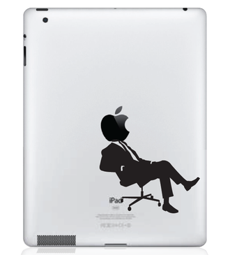 Apple CEO iPad Decal