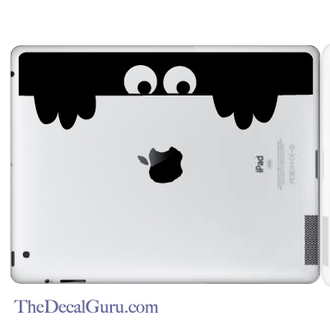 Peek A Boo Monster iPad Decal