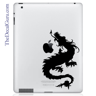 Double Dragon iPad Decal