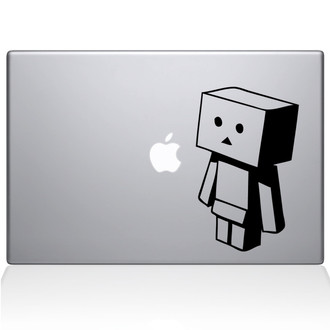 Blockster Macbook Decal Sticker Black