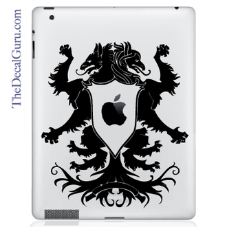 Family Crest iPad Decal