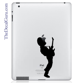 Guitar Hero ipad Decal