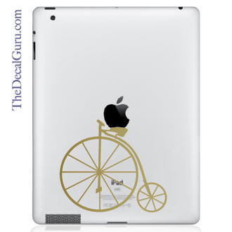 Vintage Bicycle iPad Decal