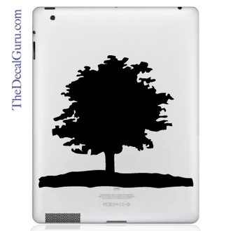 Lone Tree iPad Decal