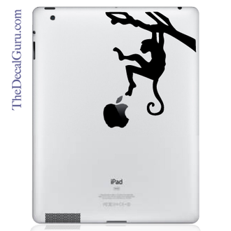 Monkey Branch iPad Decal