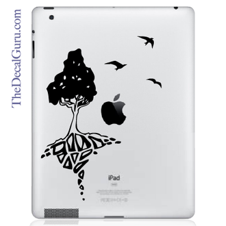 Tree of Life with Birds iPad Decal
