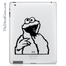 Apple Monster iPad Decal