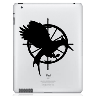 Hunger Games Catching Fire iPad Decal