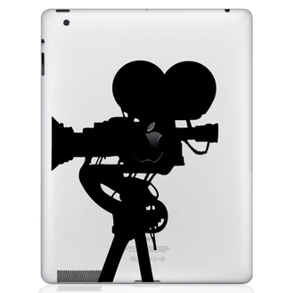Film Camera iPad Decal