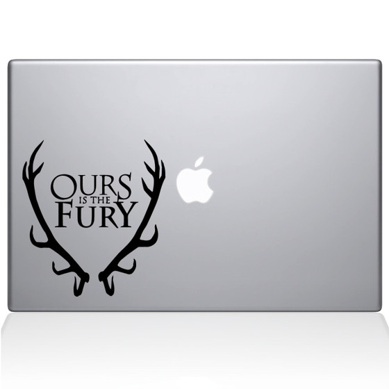 GOT House Baratheon Macbook Decal Sticker Black