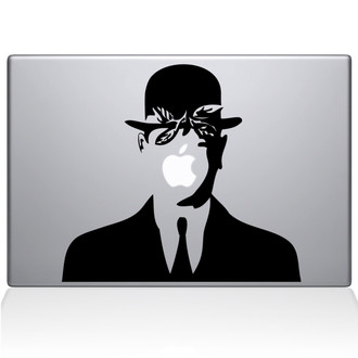 Son of Man Macbook Decal Sticker Black