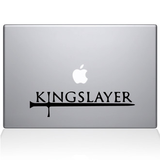 GOT Kingslayer Macbook Decal Sticker Black