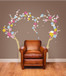Spring Blossoms Nursery Wall Decal