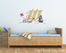 Pirate Ship Monogram Wall Decal