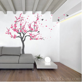 Japanese Cherry Tree Wall Decal