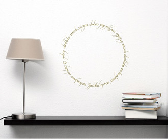 Lord Of The Rings Inscription Wall Decal
