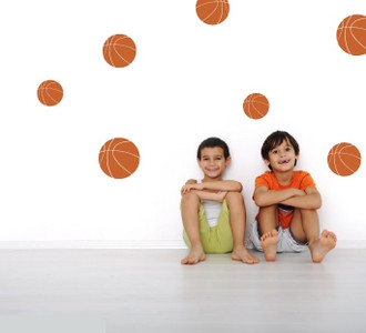 Basketballs Wall Decal