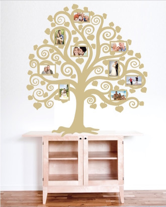 Family Tree Pictures Wall Decal