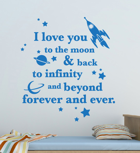 I Love You Quotes: I Love You To The Moon Quote