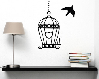 Free to Fly Wall Decal