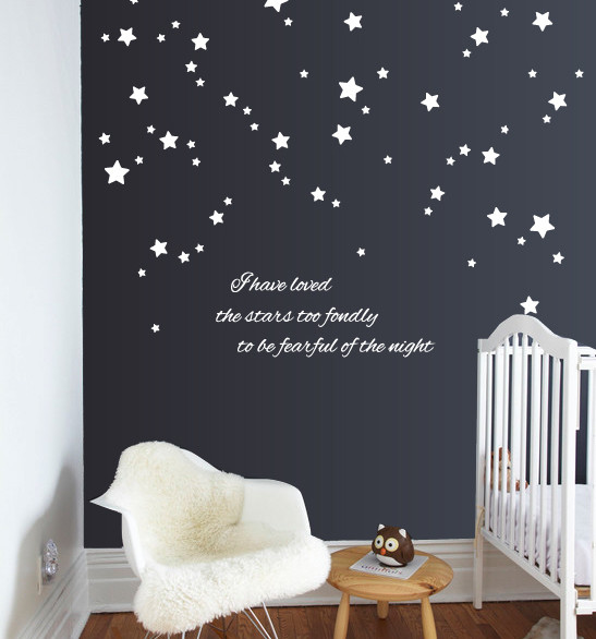 I Have Loved the Stars Wall Decal & Stars quote | Wall Decals | The Decal Guru