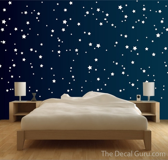 Starry Night wall decal stickers