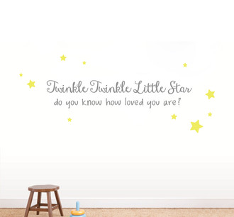Twinkle Little Star Wall Decal