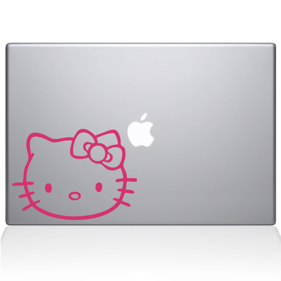 Hello Kitty Macbook Decal Sticker Pink