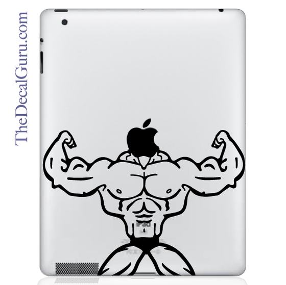 Body Builder iPad Decal