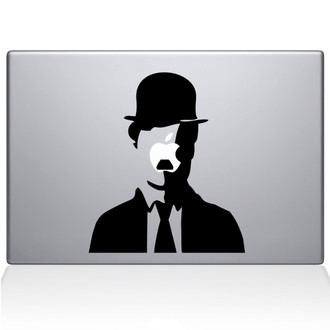 Son of Chaplin Macbook Decal Sticker Black