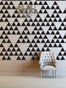 Triangle Pattern Wall Decal