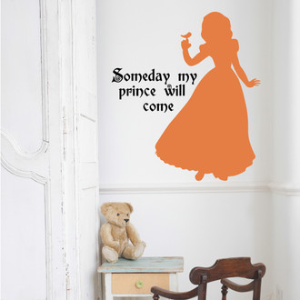 Snow White Wall Decal