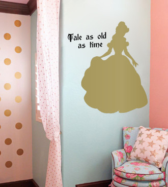 Princess Belle Wall Decal