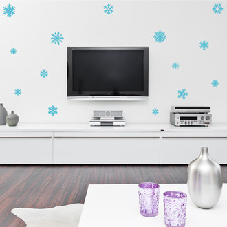 Snowflake Seasonal Winter Vinyl Wall Decal Sticker