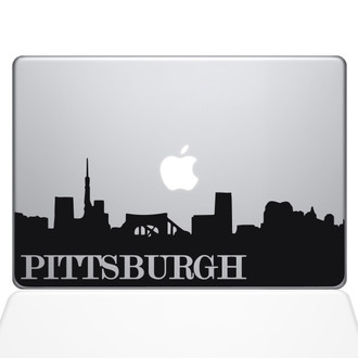Pittsburgh Pennsylvania State Macbook Decal Laptop Computer Vinyl Sticker