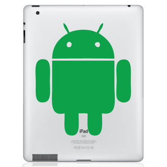 Android iPad Decal Sticker