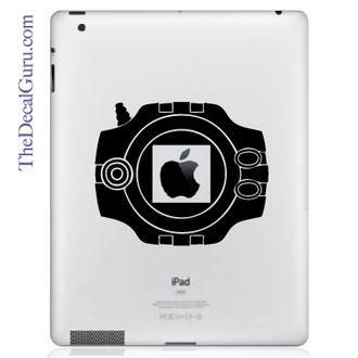 Digimon Device iPad Decal