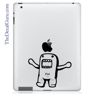 Domo Kun Monster iPad Decal